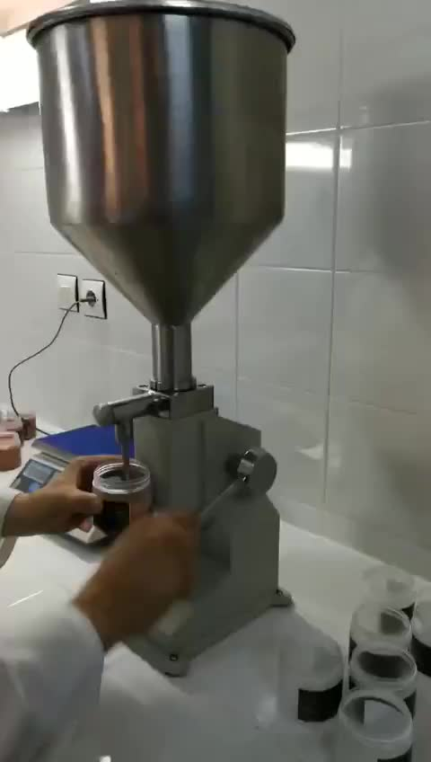 model a03 manual filling machine