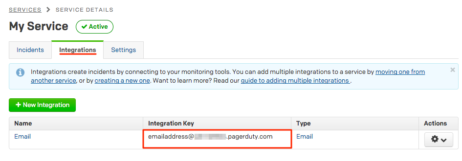 pagerduty manually triggering an incident