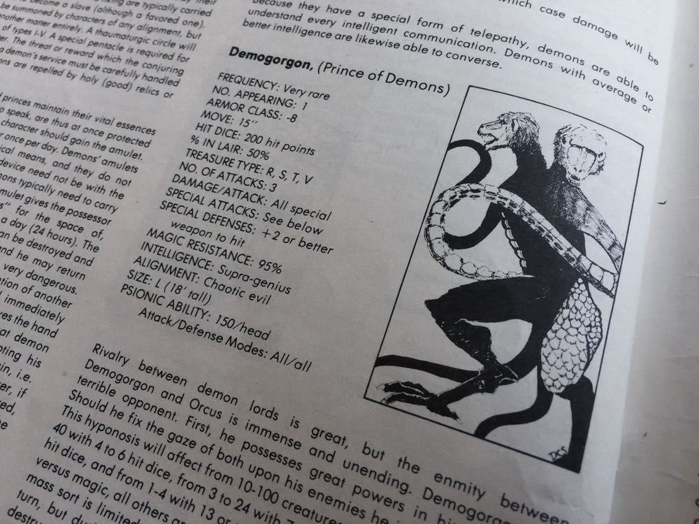 create your own monster manual