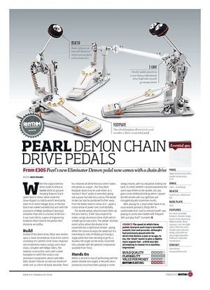pearl demon drive double pedal manual