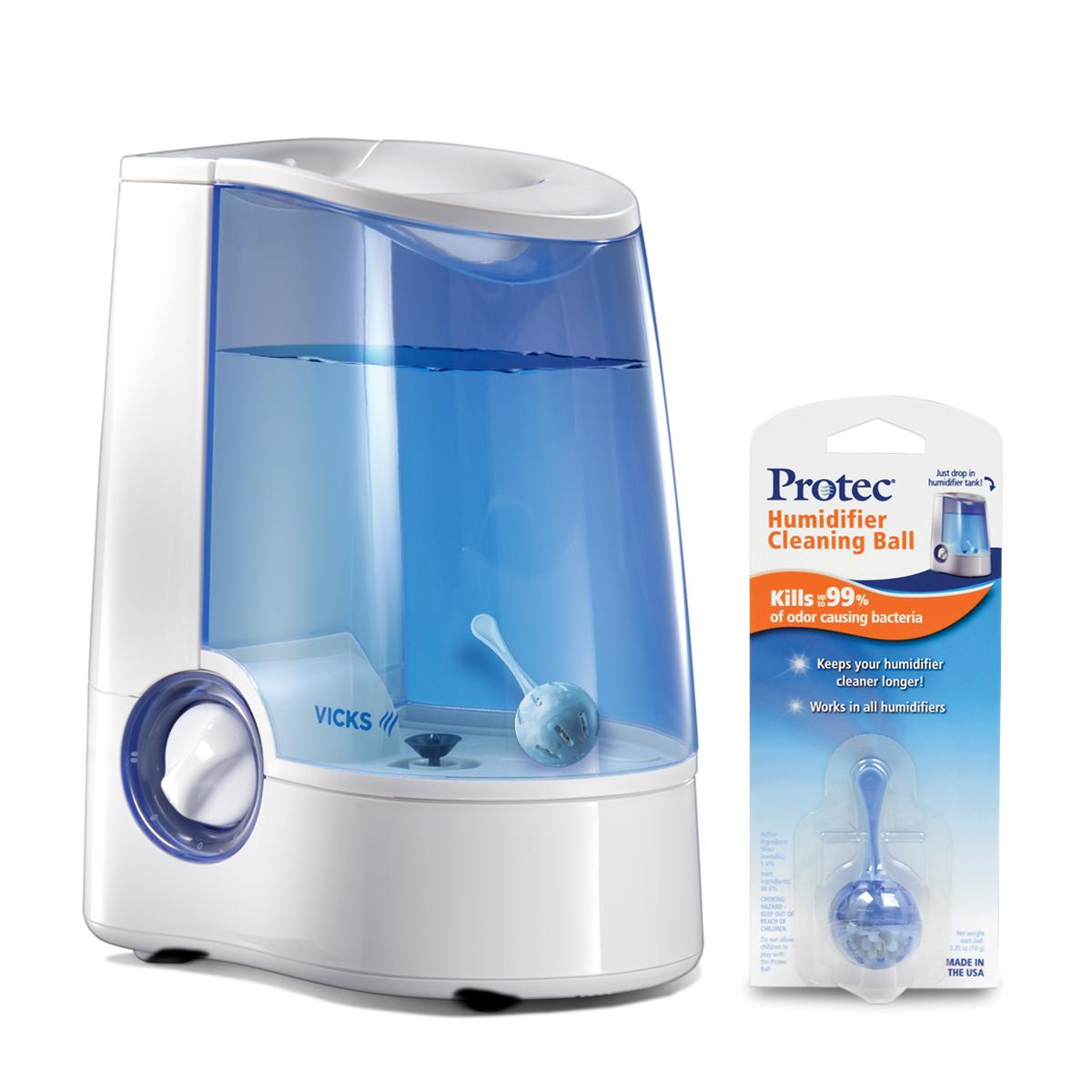 vicks warm mist humidifier with auto shut off manual