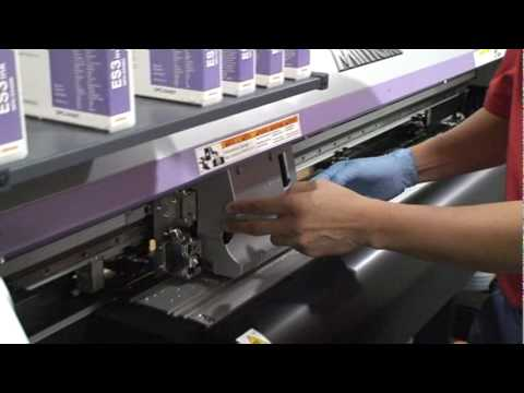 how to manually clean printheads 7500