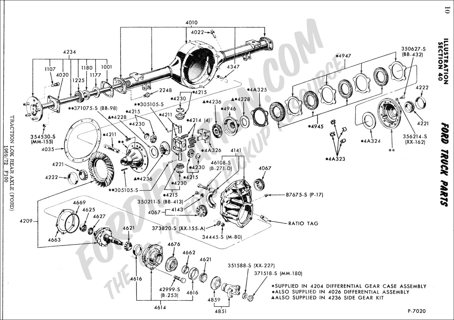 2005 f250 rear differential parts manual