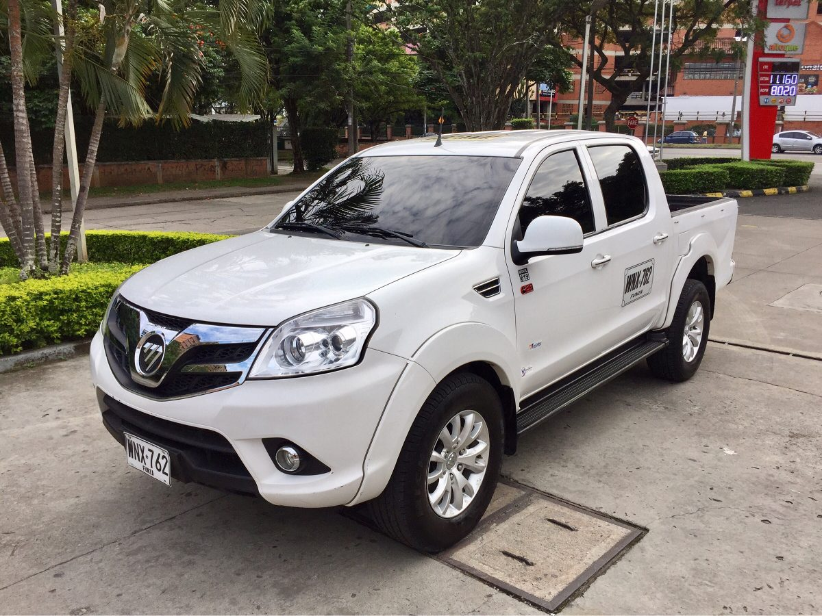 2016 foton tunland manual 4x4