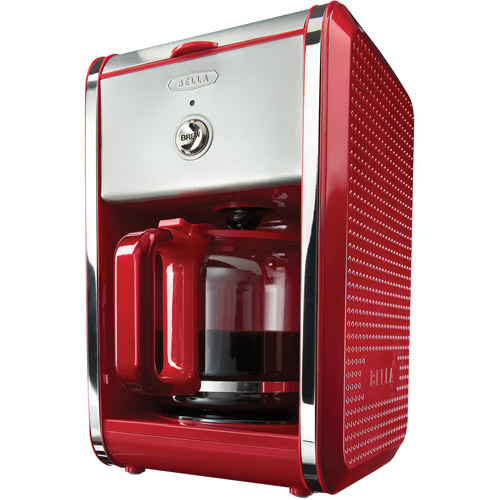 bella coffee maker red instruction manual