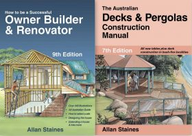 decks and pergolas construction manual by allan staines