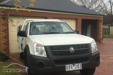 2007 holden rodeo lx ra manual my07 for sale
