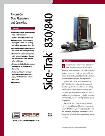 sierra mass flow meter manual