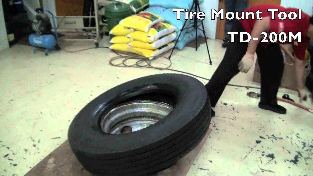 how to manually change a tire