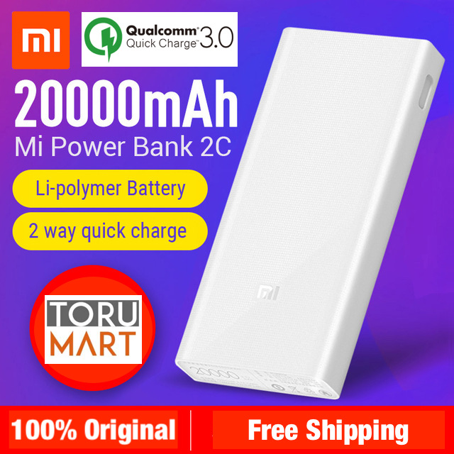 xiaomi power bank 2c manual