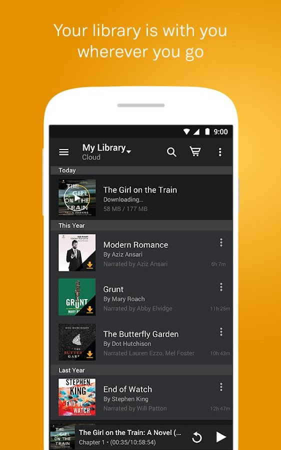 manually add audiobooks to audible android