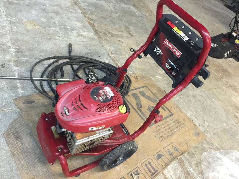 briggs and stratton 2550 pressure washer manual