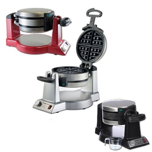 waring pro double waffle maker manual