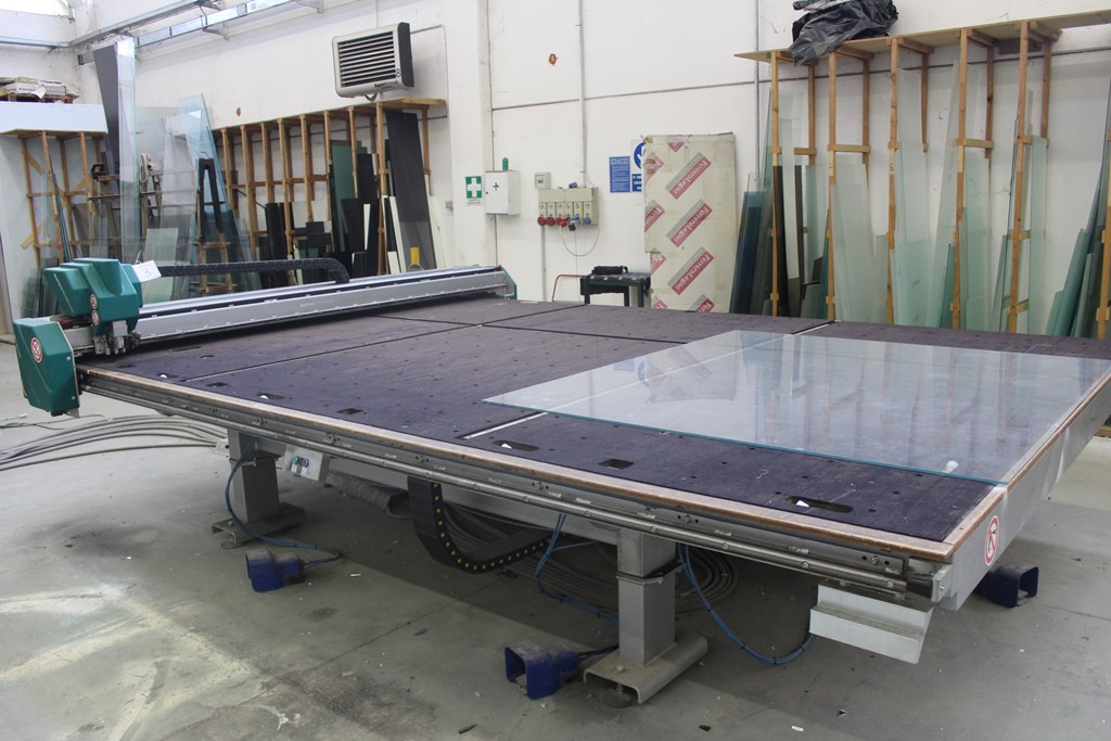 manual glass cutting table for sale