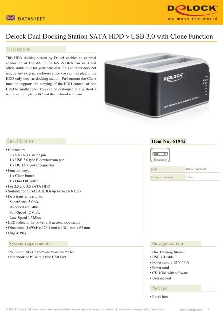 ultra usb 3.0 to dual hdd docking station manual
