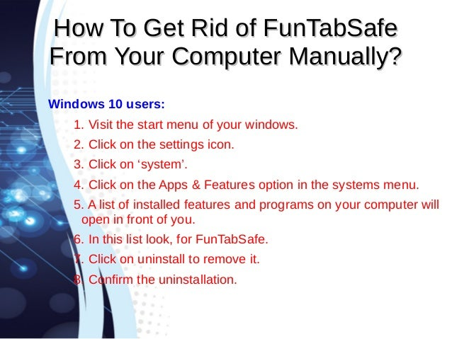 how to find and remove adware manually