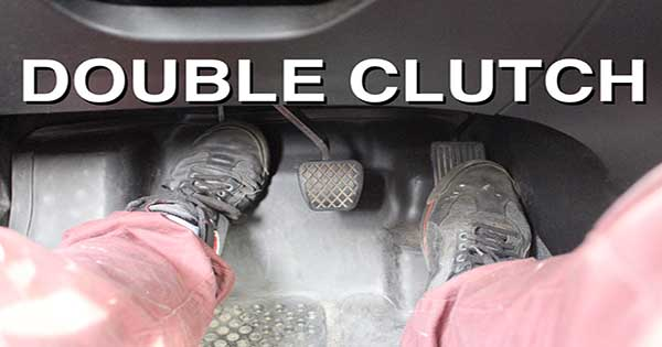 what is double clutching in a manual car