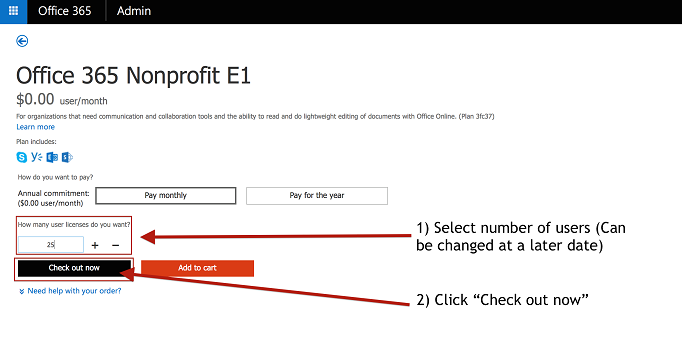switch plans manually office 365