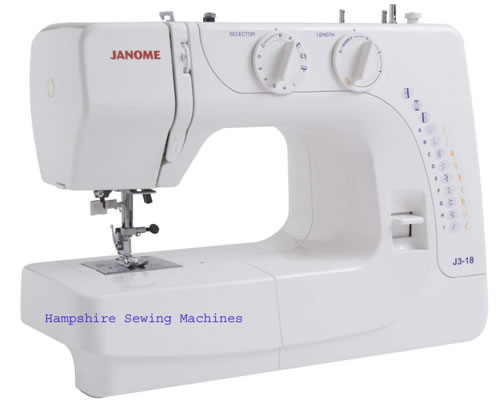 janome j3-18 sewing machine manual