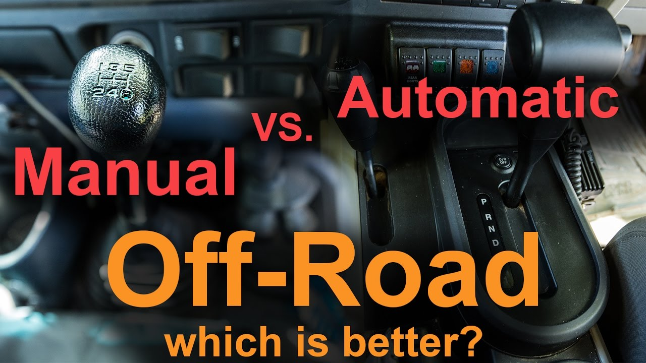 5 speed manual vs automatic