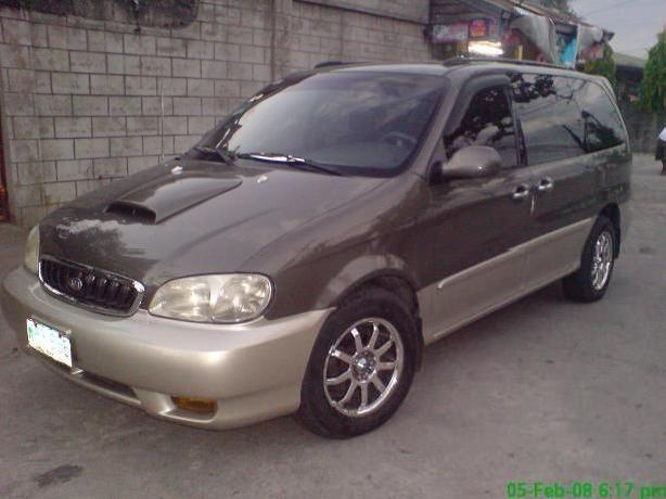 2005 kia carnival ls manual