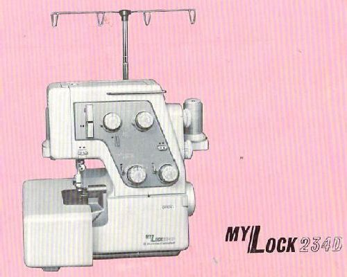 instruction manual for a janome sewing machine 4618qc