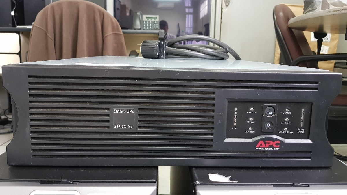 apc smart ups 3000 rm xl manual