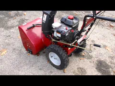 yard machine snowblower repair manual
