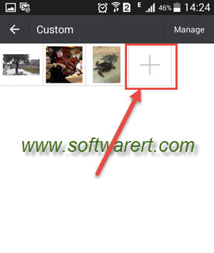 manually add software to an android