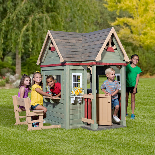 little tikes deluxe home and garden playhouse manual