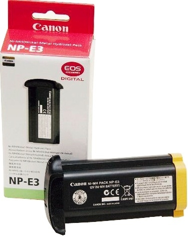 canon np-e3 battery charger manual