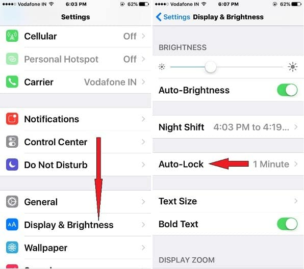 iphone x time changing from manual to automatic