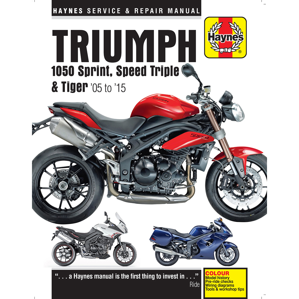 triumph speed triple 2012 manual