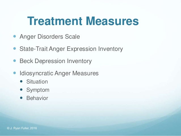 state-trait anger expression inventory professional manual