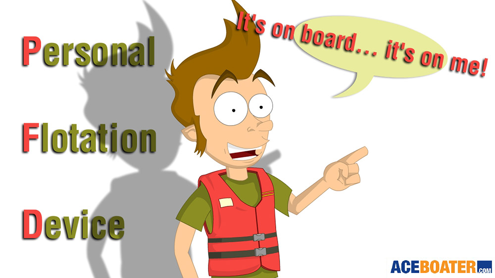 manual activation personal flotation device
