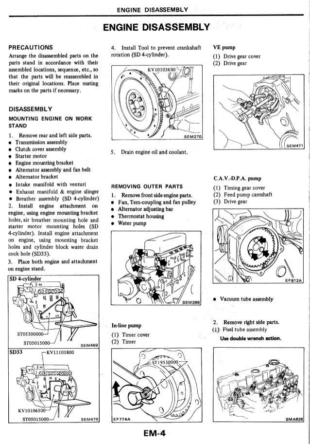 original nissan navara zd30 engine manual