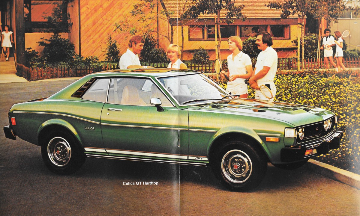 toyota celica december 1979 5 speed manual