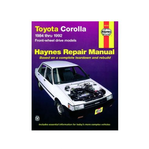 change toyota corolla from auto to manual