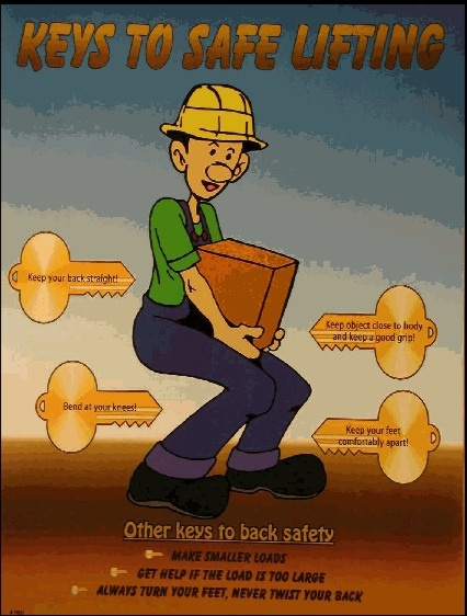 manual handling or back safe training