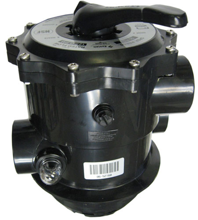 hurlcon multiport valve manual backwash possion