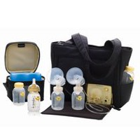 lansinoh double electric breast pump manual