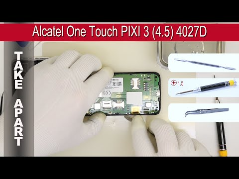 alcatel one touch pixi 3 45 4027a user manual