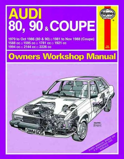 audi 90 quattro owners manual