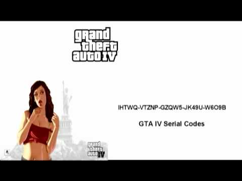 gta iv manual activation serial code