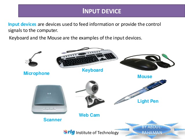 difference between manual and automatic input devices