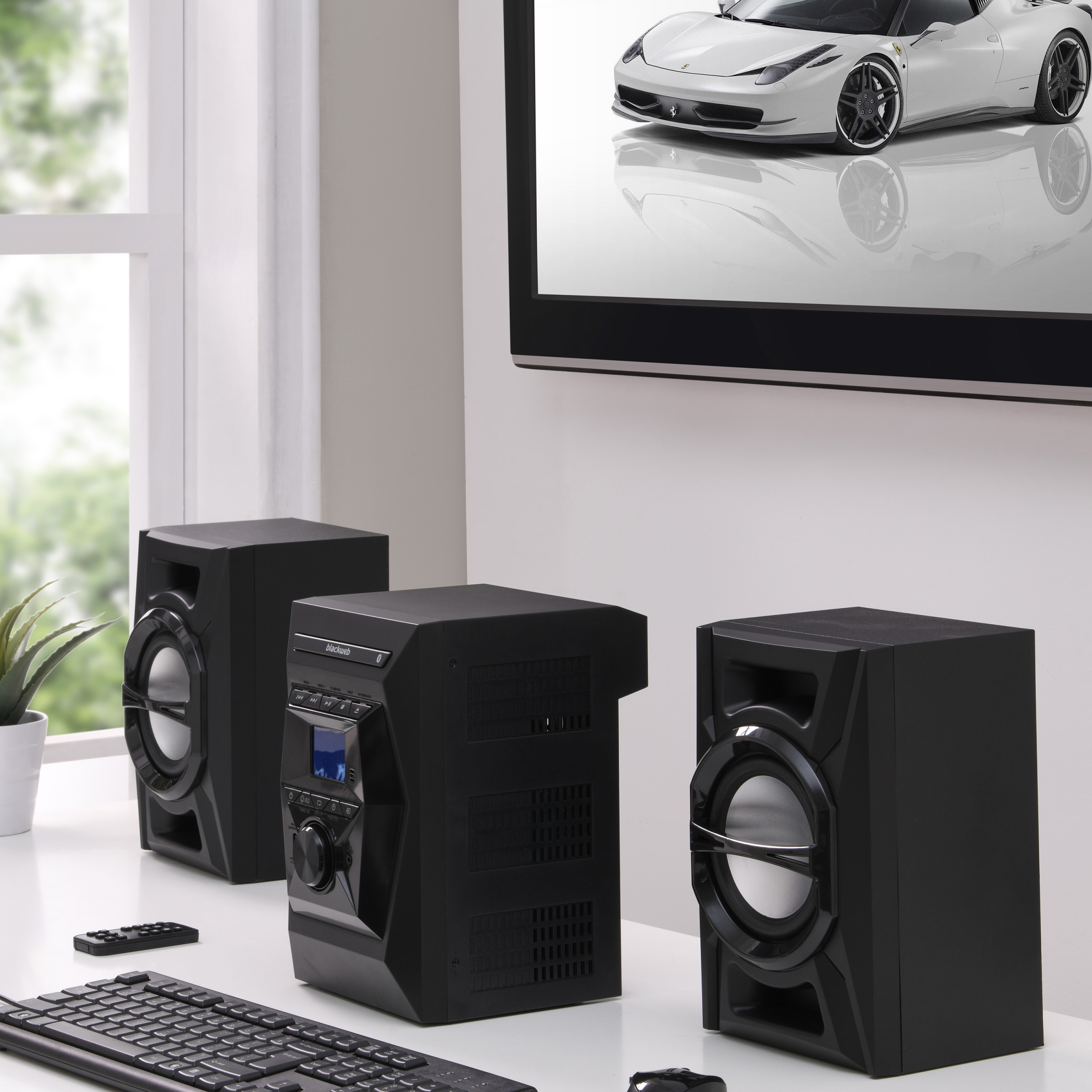 blackweb 100 watt bluetooth cd stereo system manual