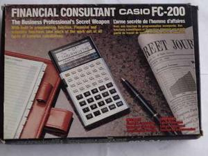 casio fc-200 manual pdf
