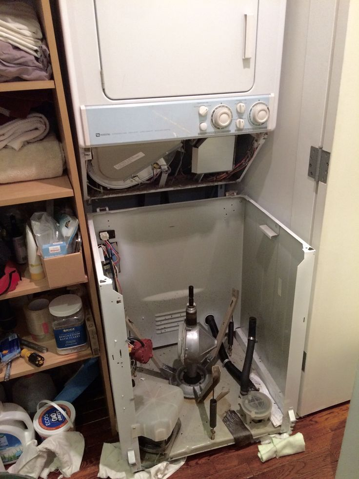maytag stacked washer dryer repair manual