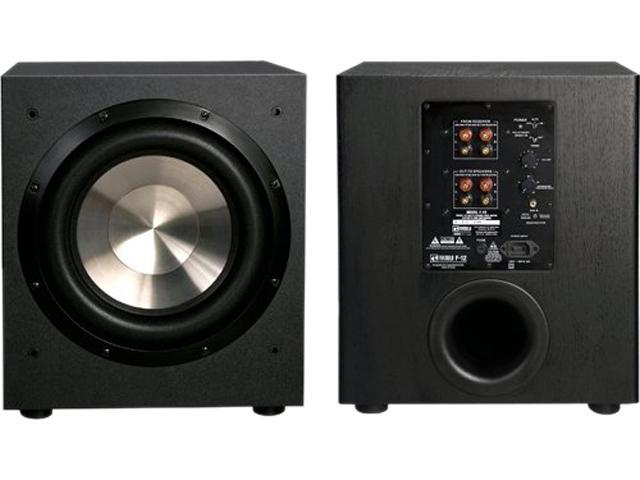 bic america f12 12-inch 475-watt front firing powered subwoofer manual