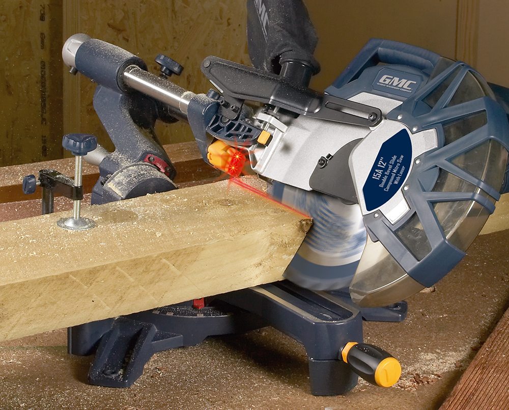 gmc 250mm slide compound mitre saw manual